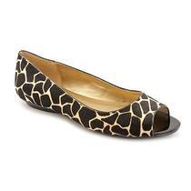 Bandolino Wilimena Womens Size 11 Black Open Toe Flats Shoes Photo