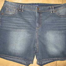 Bandolino Women's Denim Jean Shorts Amalia Size 18w Photo