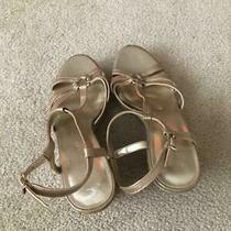 Bandolino - Women's Espadrille Wedge Sandals - White 9.5 9.5m  Photo