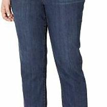Bandolino Women's Jeans Blue Size 24w Plus Mandie Signature Fit Stretch 48 004 Photo