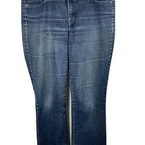 Bandolino Womens Size 12 Blue Jeans With Embroidered Pockets Photo
