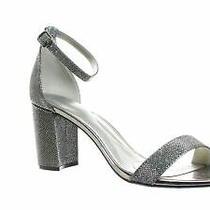 Bandolino Womens Armory Gunmetal Ankle Strap Heels Size 11 (749442) Photo