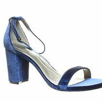 Bandolino Womens Armory Navy Ankle Strap Heels Size 10.5 Photo