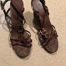 Bandolino Womens Brown Sandals Size 10 Photo