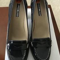 Bandolino Womens  Closed Toe Classic Pumps Blue Patent Size 9.5 Photo