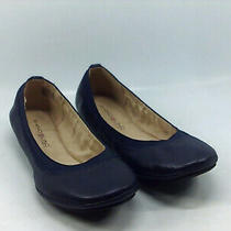Bandolino Womens Edition Closed Toe Ballet Flats Blue Size 6.0 Tmht Photo