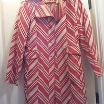 Bandolino Womens Fun Retro Dress Coat Size M Photo