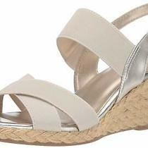 Bandolino Womens Hearsay2 Open Toe Casual Slingback Sandals Gold Size 8.5 Ypol Photo