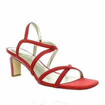 Bandolino Womens Obexx Crimson Sandals Size 8.5 Photo