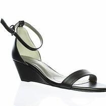 Bandolino Womens Omira3 Black Ankle Strap Heels Size 8 (886822) Photo