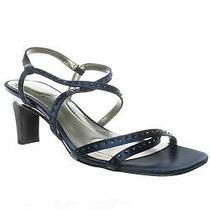 Bandolino Womens Ota Navy Sandals Size 5.5 (764332) Photo