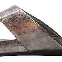 Bandolino Womens Piano Flip Flops Sandal Shoe 8.5 Bronze Photo