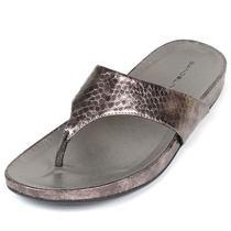 Bandolino Womens Piano Flip Flops Sandal Shoe 9 Copper C/n Photo