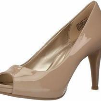 Bandolino Womens Rainaa Peep Toe Classic Pumps Tan Size 6.0 Dqqa Photo
