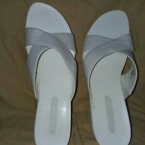 Bandolino Womens Size 10 M White Open Toe Sandle. 3