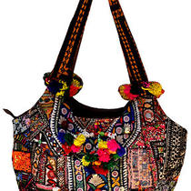 Banjara Handbag Hobo Sling Tote Bag Ethnic Trible Zypsi Vtg Patch Work India Art Photo