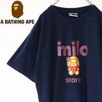 Bape Milo Big Logo Print a T-Shirt Ape Parker Jacket Size L Photo