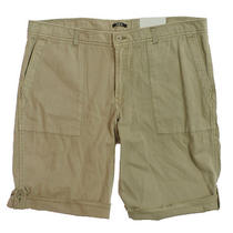 Bar Iii Mens Rolled Cuff Shorts - Fossil Stone - 40 Photo