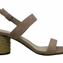 Bar Iii Womens Brooklin Leather Open Toe Casual Ankle Strap Blush Size 10.0 Photo