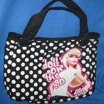 Barbie Doll Mattel Girl Toy Vintage Retro New Hobo Tote Hand Bag Purse Photo