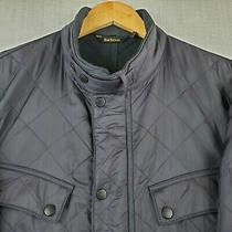 Barbour Ariel Polarquilt 2xl Mens Quilted Nylon Fleece Lined Jacket Coat Navy Photo