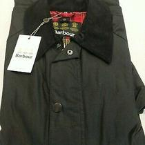 Barbour Ashby Waxed Jacket Black Mens M Nwt Photo