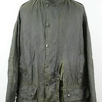 Barbour Beaufort Khaki Wax Coat Chest Size 52