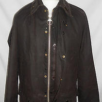 Barbour Beaufort Wax Jacket Gold Plated buttons.size medium.fantastic Condition Photo