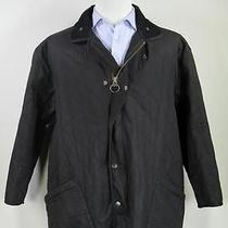Barbour Black Diamond 'Polar Quilts' Duracotton Waxed Barn Jacket Xxl Photo