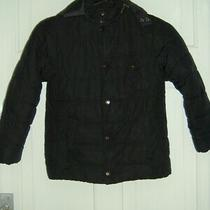 Barbour Boys Quilted Jacket Coat Size S Uk 8-10 Photo