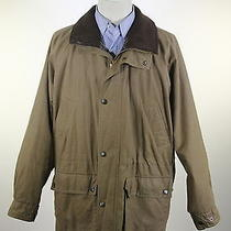 Barbour  Brown Breathables Duracotton Parka Waxed Cotton Barn Jacket Xl Photo