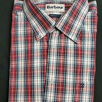 Barbour Button-Down Collar Shirt L Euc Photo