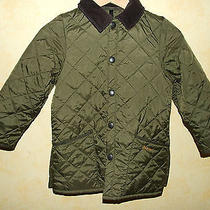 Barbour Children's Liddesdale New Quilted Jacket S Photo
