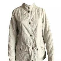Barbour Classic Basic Beige Lightweight Jacket M Us8 Photo