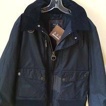 Barbour Dept B Hunnam Waxed Bomber Jacket - Nwt - L Photo