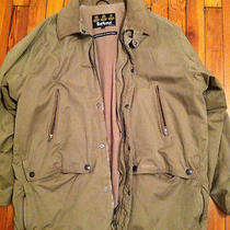 Barbour Epsom Microfiber Jacket Olive Xl Photo