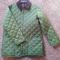 Barbour Eskdale Green Quilted Barn Jacket New Without Tags Photo