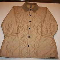 Barbour Eskdale Jacket England Quilted - D370 Tan  Medium Chore Barn Horses Photo