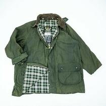 Barbour Gamefair Wax Jacket Size Xxl 122 Chests Bedale Green Vintage Photo