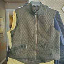 Barbour Gilet/vest in a Gorgeous Hunter Green a Ttmeless Classic Fantastic Photo