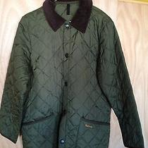 Barbour Girls Xxl Green Barn Coat  Photo