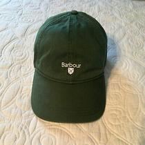Barbour Hat Cap Green Euc Adjustable Photo