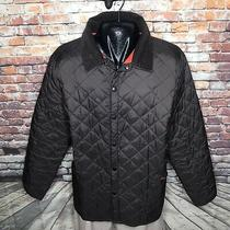 Barbour Heritage Liddesdale Regular Fit Quilted Jacket Mens Size 2xl Brown Photo