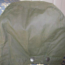 Barbour Hood Green Waxed Cotton A128 Fits Bedale and Others. Photo