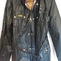 Barbour International Motorcycle Jacket Black L Photo
