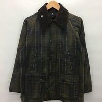Barbour Jacket Bedale Cotton Brown Check Tartan C36 91cm 9969 Photo