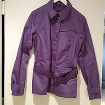 Barbour Jacket International Purple Rare  Photo