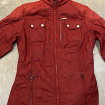 Barbour Jacket Size 8 Red Photo