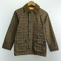 Barbour Jacket /xxs/nylon/beige/check/bideil/bedale/1401003 9961 Photo