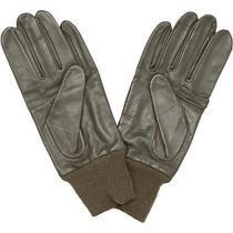 Barbour Large Leather Shooting Gloves Nwt Made in England Photo